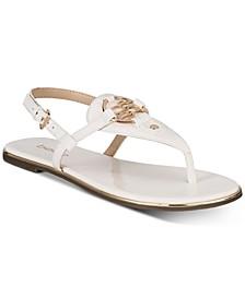 Janney Thong Flat Sandals