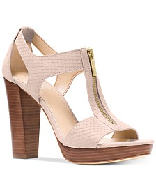 MICHAEL Michael Kors Berkley Platform Dress Sandals