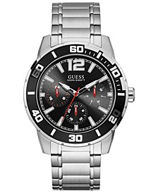 Men's Stainless Steel Bracelet Watch 46mm