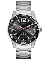 343e18473f GUESS Women's Stainless Steel Bracelet Watch 46mm