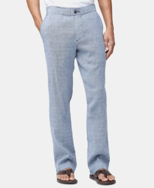 Tommy Bahama Men's Big & Tall Linen Pants In Maritime