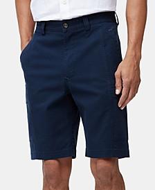 """Men's Big & Tall Key Isles 9.5"""" Cargo Shorts, Created for Macy's"""