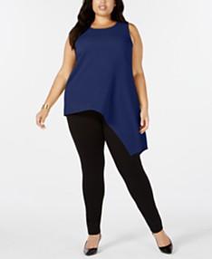75430a572f4 Plus Size Tops - Womens Plus Size Blouses & Shirts - Macy's