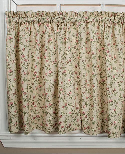 Ellis Curtain Tailored Tier 68x24