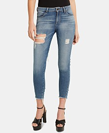 GUESS Ripped Skinny Jeans