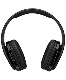 Platinum Bluetooth Noise Cancelling Headphones with Audio Line In