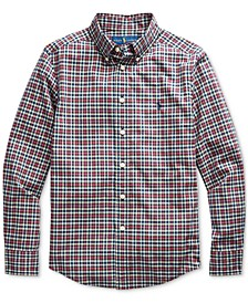 Big Boys Stretch Poplin Shirt