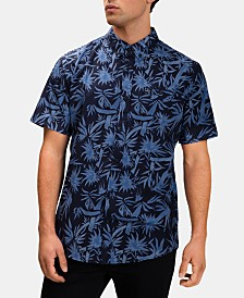 Hurley Men's Spray Palms Shirt