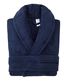 Shawl Collar Turkish Cotton Bathrobe