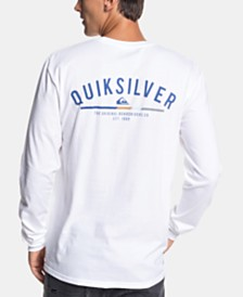 Quiksilver Men's Logo Graphic Shirt