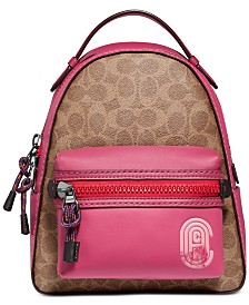 COACH Campus 23 Backpack In Signature Canvas With Patch