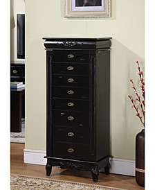 Morris 8-Drawer Jewelry Armoire