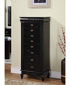 Nathan Direct Morris 8-Drawer Jewelry Armoire