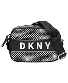 DKNY Ebony Camera Crossbody, Created for Macy's