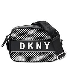 DKNY Ebony Logo Camera Crossbody, Created for Macy's