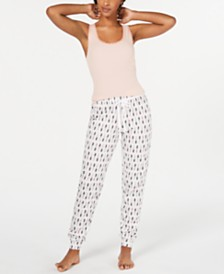 Jenni Novelty Pajama Joggers, Created for Macy's