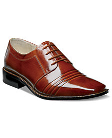 Stacy Adams Raynor Pleated Lace-Up Shoes