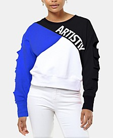 Colorblocked Logo Sweatshirt