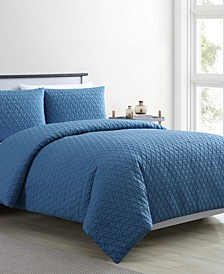 Mykonos 3-Pc. Queen Duvet Cover Set