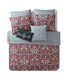 Janine 7-Pc. Full/Queen Comforter Set