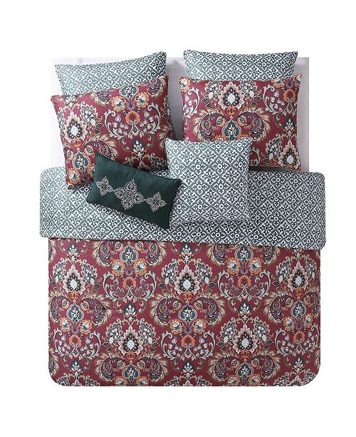 VCNY Home Janine 7-Pc. Full/Queen Comforter Set
