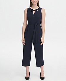 Grommet Top Jumpsuit