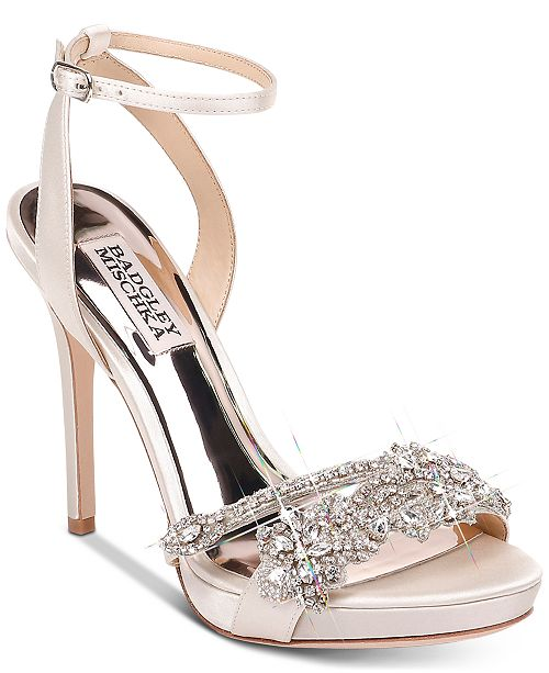 Badgley Mischka Adrianna Evening Shoes