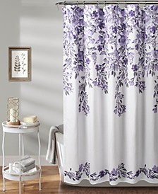 "Tanisha 72"" x 72"" Floral Shower Curtain"
