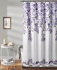"Tanisha 72"" x 72"" Floral Shower Curtain"
