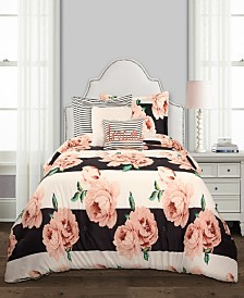 Amara Floral 5-Pc. Twin XL Comforter Set