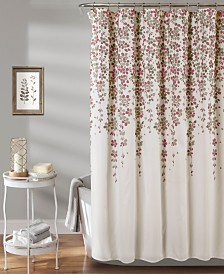 "Weeping Flower 72"" x 72"" Shower Curtain"