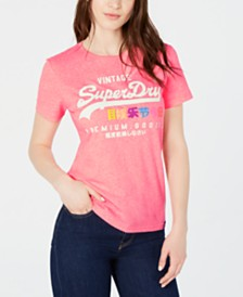 Superdry Cotton Premium Goods Graphic T-Shirt