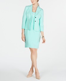 Kasper Two-Button Jacket & Sheath Dress