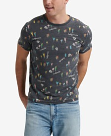 Lucky Brand Men's All Over Print Graphic