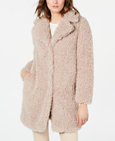 I.N.C. Faux-Fur Coat, Created for Macy's