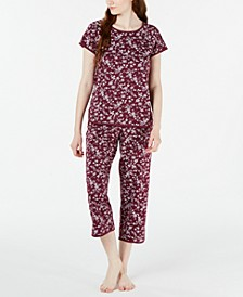 Printed Cotton Pajama Set, Created for Macy's