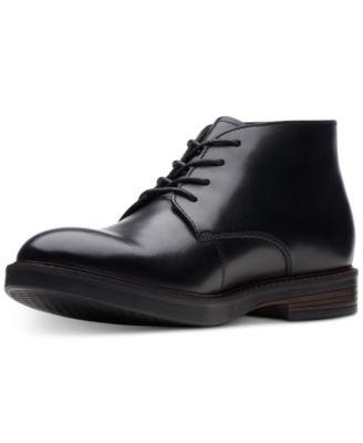 Clarks Mens Paulson Mid Chukka Boot