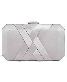 INC Tina Satin Clutch, Created for Macy's