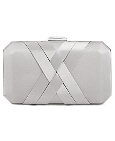 I.N.C. Tina Satin Clutch, Created for Macy's