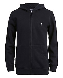 Nautica Big Boys Wilson Full-Zip Fleece Hoodie