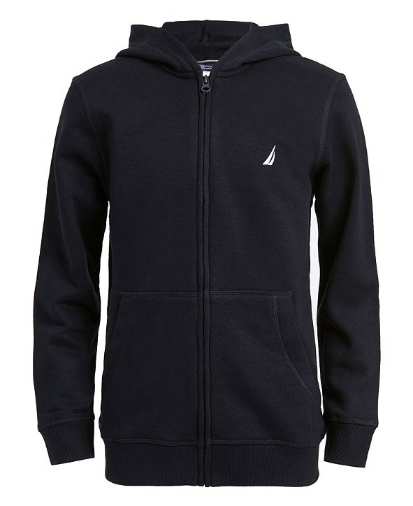 Nautica Little Boys Full Zip Fleece Hoodie