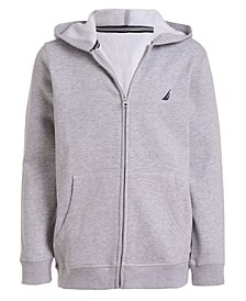 Big Boys Full Zip Fleece Hoodie
