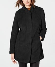 Kenneth Cole Faux-Fur Coat