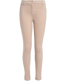 Nautica Big Girls Plus-Size Sateen Skinny Pants
