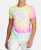 fecbc8082c69 Polo Ralph Lauren Men's Logo Graphic Tie-Dye T-Shirt