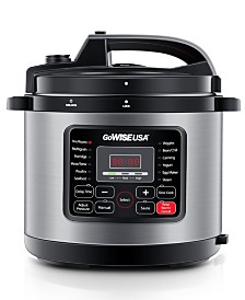 Gowise USA 6-Qt 12-in-1 Electric Pressure Cooker