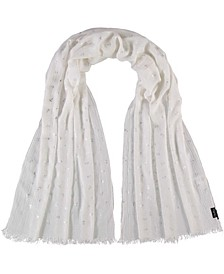 Anchors with Metallic Oblong Scarf