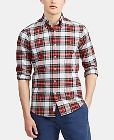 Men's Big & Tall Oxford Sport Shirt