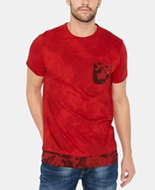 Buffalo David Bitton Men's Katop Layered-Look Camouflage Pocket T-Shirt