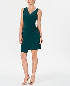 Asymmetrical Embellished Dress